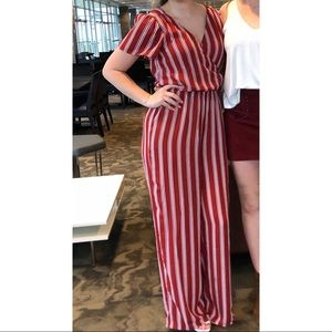 Charlotte Russe Striped Jumper
